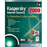 Kaspersky internet security 2009  (3 postes, 1 an)par Kaspersky