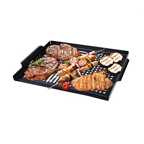 Arctic Monsoon Grill Accessories, High Quality BBQ Grill Tools Grilling Utensils Accessories (Grilling Topper (GP-121)) (Grill Sauce Rack compare prices)