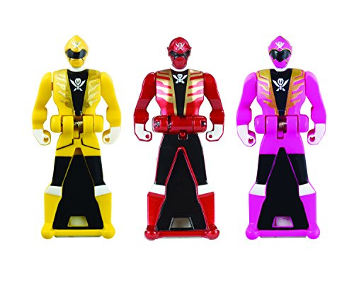 Power Rangers Super Megaforce - Power Rangers Super Megaforce Legendary Ranger Key Pack B, Metallic Red/Yellow with Pink (All Red Ranger Keys compare prices)