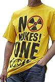 ZERO HOUR(ゼロアワー) 原発反対 NO NUKES(脱原発) 半袖Tシャツ(NN02)