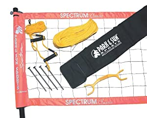 Buy Park & Sun TS-CL Spectrum Classic Volleyball Set by Park & Sun