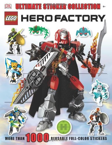 Ultimate Sticker Collection: LEGO Hero Factory (Ultimate Sticker Collections)
