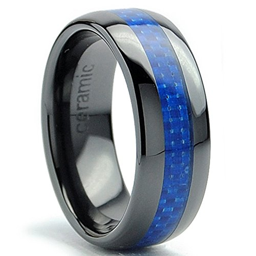 8mm-dome-mens-black-ceramic-ring-wedding-band-with-blue-carbon-fiber-inlay-size-95