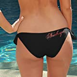 NCAA Ohio State Buckeyes Ladies Black Team Bikini Bottom (Large) at Amazon.com