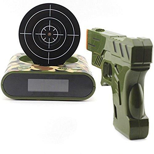 Target Alarm Clock/creative Clock - Camouflage (Target Practice Alarm compare prices)
