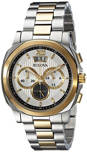 bulova-mens-98b232-classic-analog-display-japanese-quartz-two-tone-watch