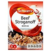 Schwartz Beef Stroganoff Recipe Mix (35g) シュワルツビーフストロガノフのレシピミックス( 35グラム)