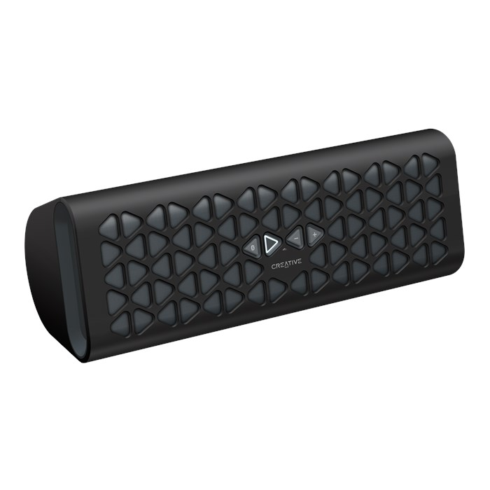 Click to buy Creative Muvo 20 Portable Wireless Bluetooth Speaker with NFC, Amp and Dual Flared Bass Port (Black) - From only $61.56