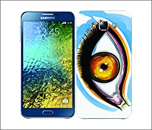 Galaxy Printed 1656 EYES FLAGGED INSPIRED Argentina Hard Cover for Samsung ACE 3 (7272)