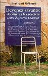 Devenez savants : Découvrez les sorciers : Lettre à Georges Charpak par Méheust