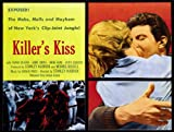 Killer's Kiss Poster Movie 27x40 Frank Silvera Jamie Smith Irene Kane