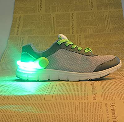 LED Shoe Clip - Use as a Bike Light, Running Light, Jogging Light, Walking Light, Shoe Light, Cycling Light, Night Safety Light (1 Pair)