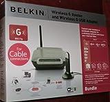 Belkin Wireless G USB Desktop/Laptop Network Kit - F5D7050/F5D7230-4