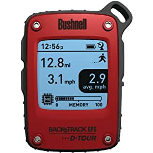 Bushnell BackTrack D-Tour Personal GPS, Red
