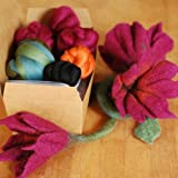 how to make felted slippers from roving