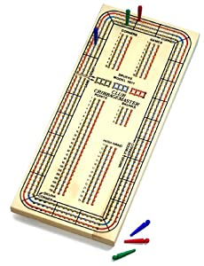 Drueke 815.00 Three Track Club Cribbage Master