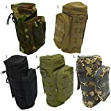 Outdoor Sport Tactical Gear Nylon Molle Zipper Camo Large Water Bottle Bag Kettle Pack w/ Utility Medic Small Mess Pouch