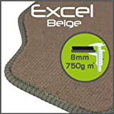Volvo 740 / 760 1983 - 1990 Excel Beige Tailored Floor Mats