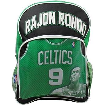 NBA Boston Celtics #9 Rajon Rondo Youth Game Time Jersey Backpack by NBA
