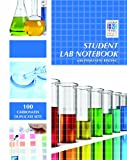 Bound carbonless lab notebook