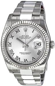 Rolex Perpetual Datejust Rhodium Dial…
