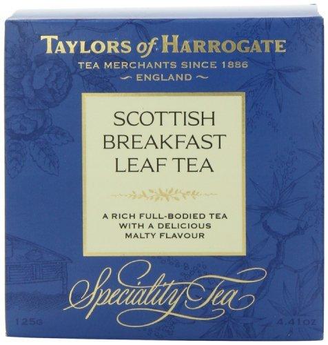 Taylors of Harrogate Scottish Breakfast Leaf Tea, Loose Leaf, 4.41 Ounce Box, Garden, Lawn, Maintenance