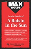 img - for Raisin in the Sun, A (MAXNotes Literature Guides) book / textbook / text book