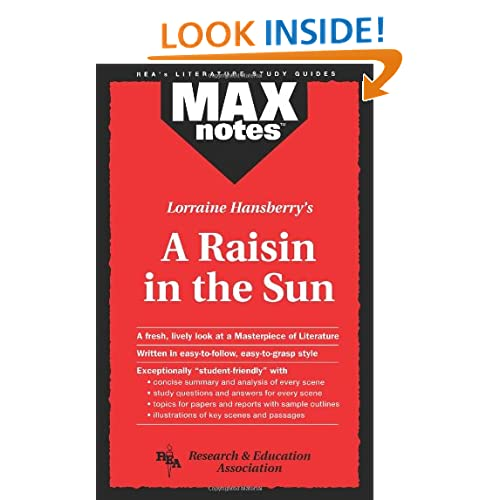 Raisin in the Sun, A (MAXNotes Literature Guides)