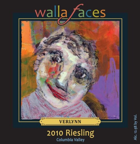 2010 Walla Faces Riesling 750 Ml