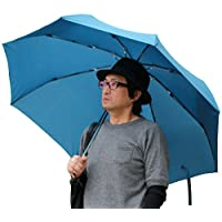 (マルカワジーンズパワージーンズバリュー) Marukawa JEANS POWER JEANS VALUE 傘 メンズ 紳士 折りたたみ傘 Big 70cm 大きいサイズ 強化骨仕様 9color Free チャコール