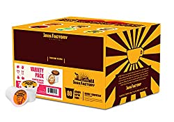 Java Factory Single Cup Coffee for Keurig K Cup Brewers by Java Factory