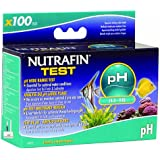 Nutrafin A7815 pH Wide Range Test 4.5 to 9.0 for Fresh and Saltwater, 100-Tests