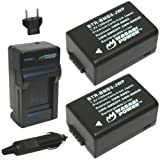 Wasabi Power Battery (2-Pack) And Charger For Panasonic DMW-BMB9 DMW-BMB9E DMW-BMB9PP And Panasonic Lumix DMC-FZ40...