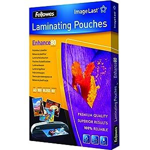 Fellowes - 5306207 - Pochettes de Plastification - A5,A3 - Plastique