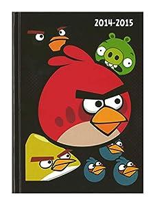 Angry Birds - Agenda 2014/2015 Couverture Souple Noir