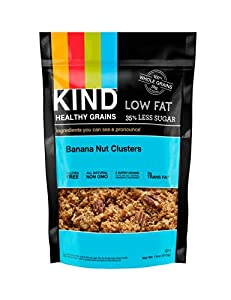 KIND Healthy Grains Clusters, Banana Nut, 3 Count (Pack of 3)