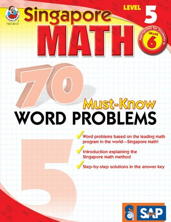 FS-014015 - SINGAPORE MATH LEVEL 5 GR 6 70 MUST
