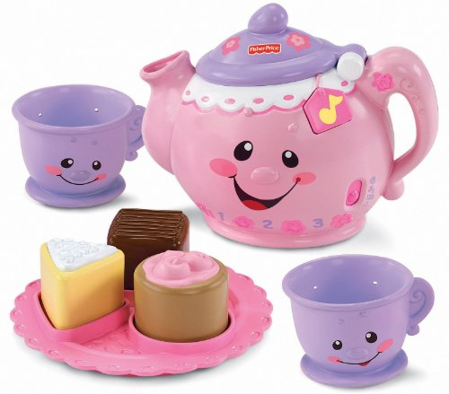 Fisher-Price Laugh & Learn Say Please Tea Set - 1