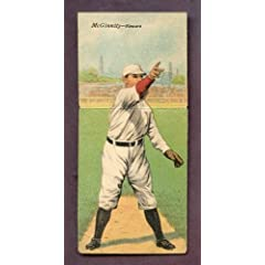Buy 1911 T201 T 201 Mecca Double Folder Joe McGinnity Newark VG-EX 223243 Kit Young Cards by T201 T 201 MECCA