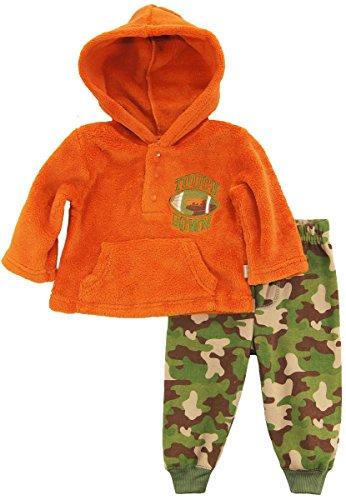 duck-goose-baby-boys-football-sherpa-hoodie-camo-microfleece-pant-set-orange-3-6-months