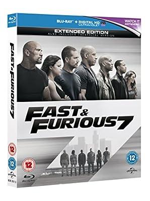 Fast & Furious 7 [Blu-ray] [Region Free]