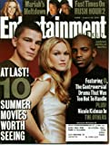Entertainment Weekly August 10, 2001 Josh Hartnett & Julia Stiles & Mekhi Phifer/O, Nicole Kidman/The Others, Mariah Carey' Meltdown, Jackie Chan & Chris Tucker/Rush Hour 2