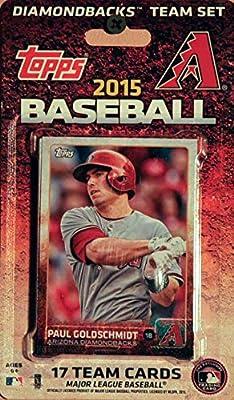 MLB Arizona Diamondbacks Licensed 2015 Topps® Team Set