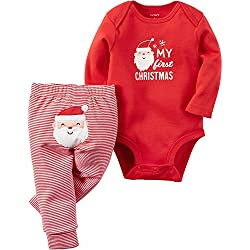 5e2609fbe Carter's Baby 2-Piece Bodysuit and Pant Set,