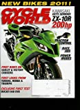 img - for Cycle World Magazine (November 2010) Volume 49, Issue #11 New Bikes 2011 // Buell Fights Back // Team Cycle World Superbike book / textbook / text book