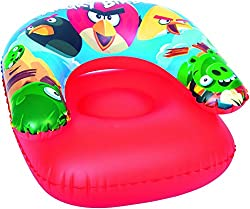 Bestway Toys Domestic Angry Birds Child Chair, Multi Color (30x30-inch)