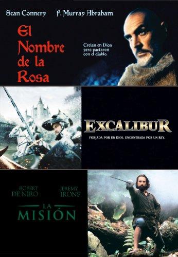 Triple Pack: En El Nombre De La Rosa + Excalibur + La Misión [DVD]