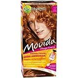 Garnier Movida Haarfarbe Intensiv-Tönung, 17 Goldkupfer, 3er Pack (3 x 1 Colorationsset)