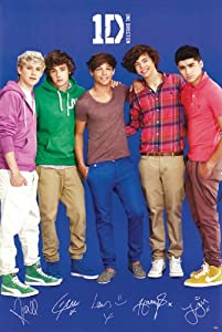 One Direction Poster 1 Group Shot 3 Rare Hot 24x36
