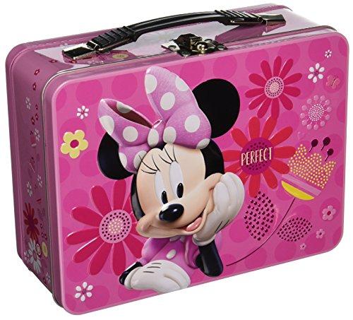 Vandor Disney Minnie's Bow tique Large Tin Tote Box